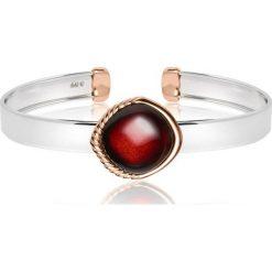 Biżuteria i zegarki damskie: PROMOCJA Bransoletka Srebrna - srebro 925, Bursztyn