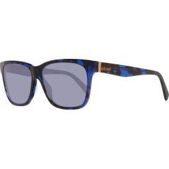 Okulary przeciwsłoneczne męskie: Okulary męskie w kolorze niebieskim