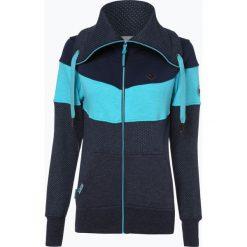 Alife& Kickin - Damska bluza rozpinana – Sunshine, niebieski. Niebieskie bluzy rozpinane damskie marki Alife& Kickin, l. Za 349,95 zł.