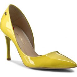 Szpilki: Szpilki MACCIONI – 974.050.7635 Żółty