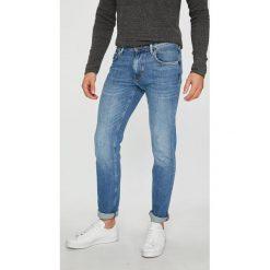 Tommy Hilfiger - Jeansy. Niebieskie jeansy męskie z dziurami TOMMY HILFIGER. Za 399,90 zł.