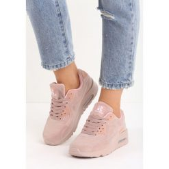 Buty sportowe damskie: Różowe Buty Sportowe Vintage Nilda