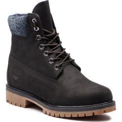 Trapery TIMBERLAND - Premium 6 In Waterproof Boot TB0A1UEJ0011 Black Nubuck. Czarne timberki męskie marki Timberland, z gumy. W wyprzedaży za 569,00 zł.