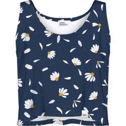 Colour Pleasure Koszulka damska CP-035 189 granatowo-biała r. M/L. Fioletowe bluzki damskie marki Colour pleasure, uniwersalny. Za 64,14 zł.
