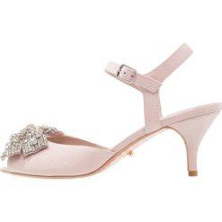 Dune London MAJESTIE Sandały blush. Czerwone sandały damskie Dune London, z materiału. Za 509,00 zł.