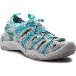 Sandały KEEN - Evofit One 1018751 Paloma/Lake Blue. Niebieskie sandały damskie marki Keen, z materiału. W wyprzedaży za 359,00 zł.
