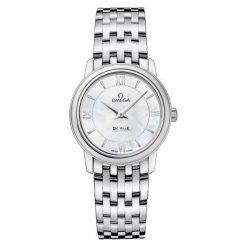 ZEGAREK OMEGA DE VILLE 424.10.27.60.05.001. Czarne zegarki damskie marki KALENJI, ze stali. Za 9500,00 zł.
