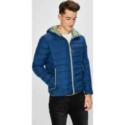 Pepe Jeans - Kurtka Aviary. Niebieskie kurtki męskie bomber Pepe Jeans, l, z jeansu, z kapturem. W wyprzedaży za 399,90 zł.
