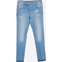 Blukids - Jeansy dziecięce 134-164 cm. Niebieskie jeansy dziewczęce Blukids, z bawełny. W wyprzedaży za 49,90 zł.