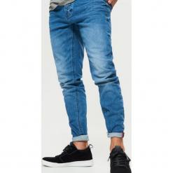 Jeansy COMFORT - Niebieski. Niebieskie jeansy męskie marki QUECHUA, m, z elastanu. Za 119,99 zł.