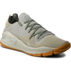 Buty UNDER ARMOUR - Ua Curry 4 Low 3000083-301 Grn. Zielone buty fitness męskie Under Armour, z materiału. W wyprzedaży za 299,00 zł.