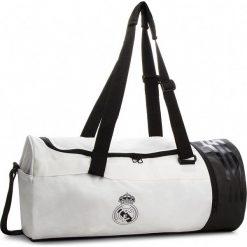 Torba adidas - Real Du M CY5606  Cwhite/Black. Białe torebki klasyczne damskie Adidas, z materiału. W wyprzedaży za 149,00 zł.