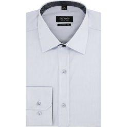 Koszula bexley 2496/3 długi rękaw custom fit niebieski. Niebieskie koszule męskie Recman, m, z długim rękawem. Za 139,00 zł.