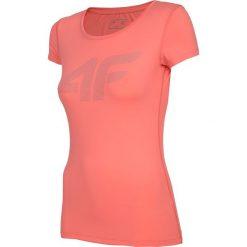 Bluzki damskie: Koszulka treningowa damska TSDF107 - koral neon