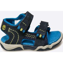 Timberland - Sandały dziecięce. Szare sandały chłopięce marki Timberland, z gumy. W wyprzedaży za 179,90 zł.