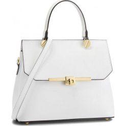 Torebka CREOLE - K10557  Biały. Białe torebki klasyczne damskie Creole, ze skóry. W wyprzedaży za 199,00 zł.