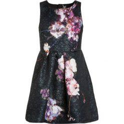 Sukienki dziewczęce z falbanami: Next FLORAL PROM DRESS Sukienka koktajlowa black