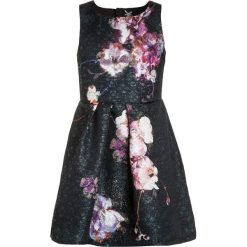 Sukienki dziewczęce: Next FLORAL PROM DRESS Sukienka koktajlowa black