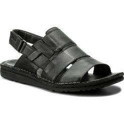 Sandały GRÜNLAND - Lapo SA1516-80 Nero. Czarne sandały męskie skórzane Grünland. W wyprzedaży za 219,00 zł.