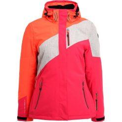 Killtec ZWENNA Kurtka narciarska koralle. Pomarańczowe kurtki damskie narciarskie KILLTEC, z materiału. W wyprzedaży za 615,20 zł.