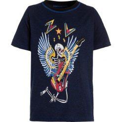 T-shirty chłopięce: Zadig & Voltaire KURZARM  Tshirt z nadrukiem schwarz