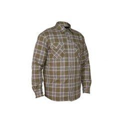 Koszula myśliwska wierzchnia 300. Zielone koszule męskie na spinki marki Reserved, l, z weluru. Za 129,99 zł.