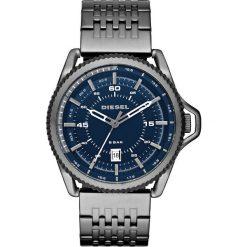 Diesel - Zegarek. Czarne zegarki męskie marki Fossil, szklane. W wyprzedaży za 499,90 zł.