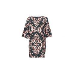 Sukienki krótkie Vero Moda  VMGYANA. Czarne sukienki hiszpanki Vero Moda, l, z krótkim rękawem, mini. Za 179,00 zł.