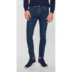 Wrangler - Jeansy Bryson. Niebieskie jeansy męskie skinny Wrangler. Za 319,90 zł.