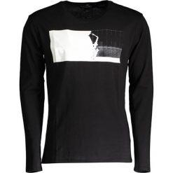 T-shirty męskie z nadrukiem: Koszulka w kolorze czarnym