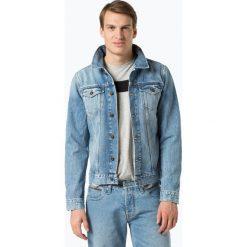 Tommy Hilfiger - Męska kurtka jeansowa, niebieski. Niebieskie kurtki męskie jeansowe marki Reserved, l. Za 499,95 zł.