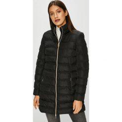 Geox - Kurtka. Czarne kurtki damskie pikowane marki Geox, z materiału. W wyprzedaży za 799,90 zł.