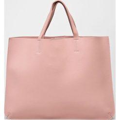 Answear - Torebka. Różowe torebki klasyczne damskie ANSWEAR, z materiału, duże. W wyprzedaży za 99,90 zł.
