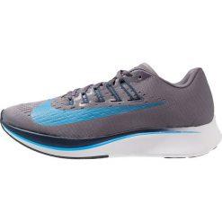 Nike Performance ZOOM FLY  Obuwie do biegania startowe gunsmoke/blue hero/obsidian/thunder grey/white. Czarne buty do biegania męskie marki Nike Performance, l, z materiału. Za 779,00 zł.