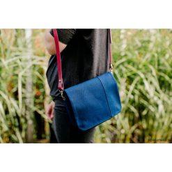 Torebki klasyczne damskie: tS 08 :: torebka z niebieskiej bawełny