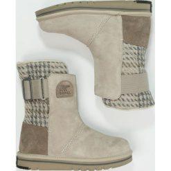 Buty zimowe damskie: Sorel NEWBIE Śniegowce silver sage