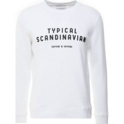 Samsøe & Samsøe SCANDINAVIAN Bluza white. Białe bluzy męskie Samsøe & Samsøe, m, z bawełny. Za 369,00 zł.