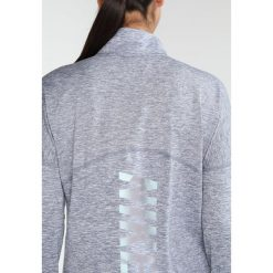 Nike Performance DRY Koszulka sportowa armory blue/htr/reflective silver. Niebieskie t-shirty damskie Nike Performance, l, z elastanu, z długim rękawem. W wyprzedaży za 143,40 zł.