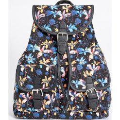Plecaki damskie: Plecak z tropikalnym wzorem - Wielobarwn