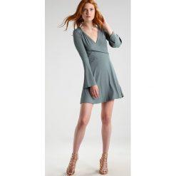 Sukienki hiszpanki: Topshop Sukienka z dżerseju duckegg