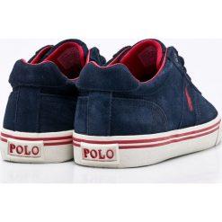 Polo Ralph Lauren - Buty. Szare halówki męskie marki Polo Ralph Lauren, z gumy, na sznurówki. Za 399,90 zł.