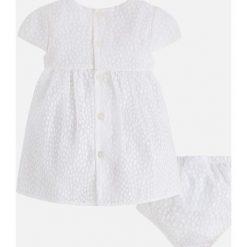 Mayoral - Sukienka dziecięca + majtki 65-80 cm. Szare bielizna dziewczęca marki Mayoral, z bawełny. Za 159,90 zł.