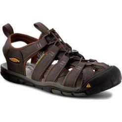 Sandały KEEN - Clearwater 1014456 Raven/Tortoise Shell. Szare sandały męskie marki Keen, z materiału. W wyprzedaży za 279,00 zł.