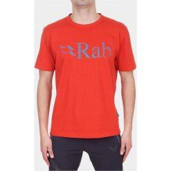 Koszulki sportowe męskie: RAB Rab Koszulka Męska Stance Tee Oxide czerwona r. S