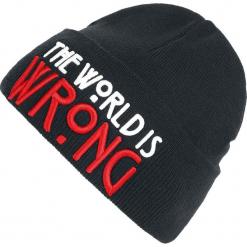 American Horror Story The World Is Wrong Czapka czarny. Czarne czapki zimowe damskie American Horror Story, z materiału. Za 79,90 zł.