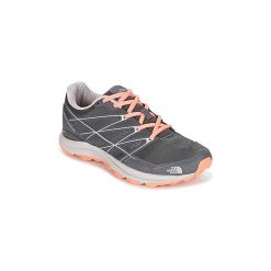 Buty do biegania The North Face  ULTRA CARDIAC II. Czerwone buty do biegania damskie marki The North Face, z materiału. Za 351,20 zł.