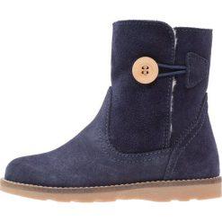 Aigle LILIWARM Botki midnight. Niebieskie buty zimowe damskie Aigle, z materiału. W wyprzedaży za 208,45 zł.