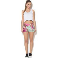 Colour Pleasure Spodnie damskie CP-020 221 zielone r. 3XL/4XL. Zielone spodnie sportowe damskie marki Colour pleasure, xl. Za 72,34 zł.