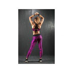 Legginsy damskie do biegania: Legginsy ETNO – pink