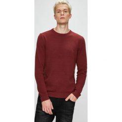 Produkt by Jack & Jones - Sweter. Brązowe swetry klasyczne męskie PRODUKT by Jack & Jones, l, z bawełny, z okrągłym kołnierzem. Za 119,90 zł.